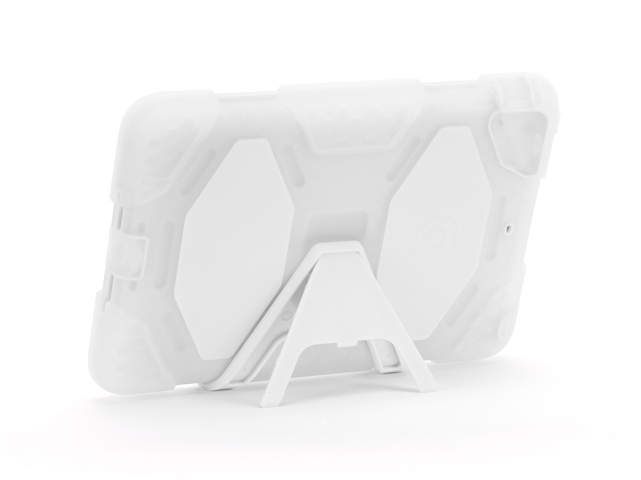 Clear/White Heavy Duty Survivor All-Terrain Case for iPad mini