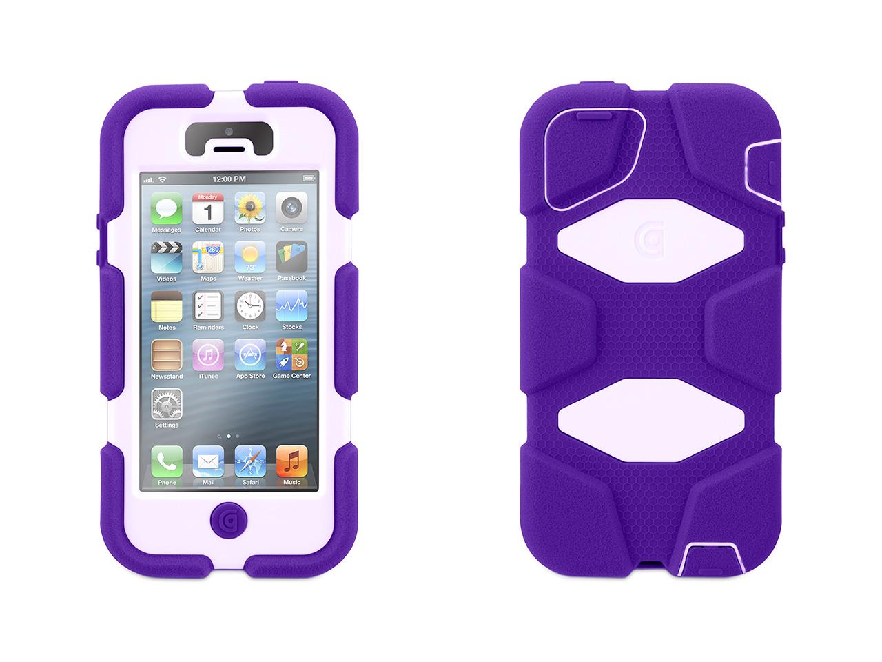 Purple/Lavender Heavy Duty Survivor Case for iPhone 5/5s
