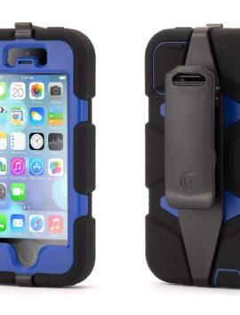 Black/Blue Survivor All-Terrain Case for iPhone 5/5s