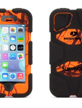 Blaze/Black Survivor in Mossy Oak Camo for iPhone 5/5s