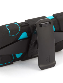 Black/Pool Blue Heavy Duty Survivor Case for iPhone 5/5s