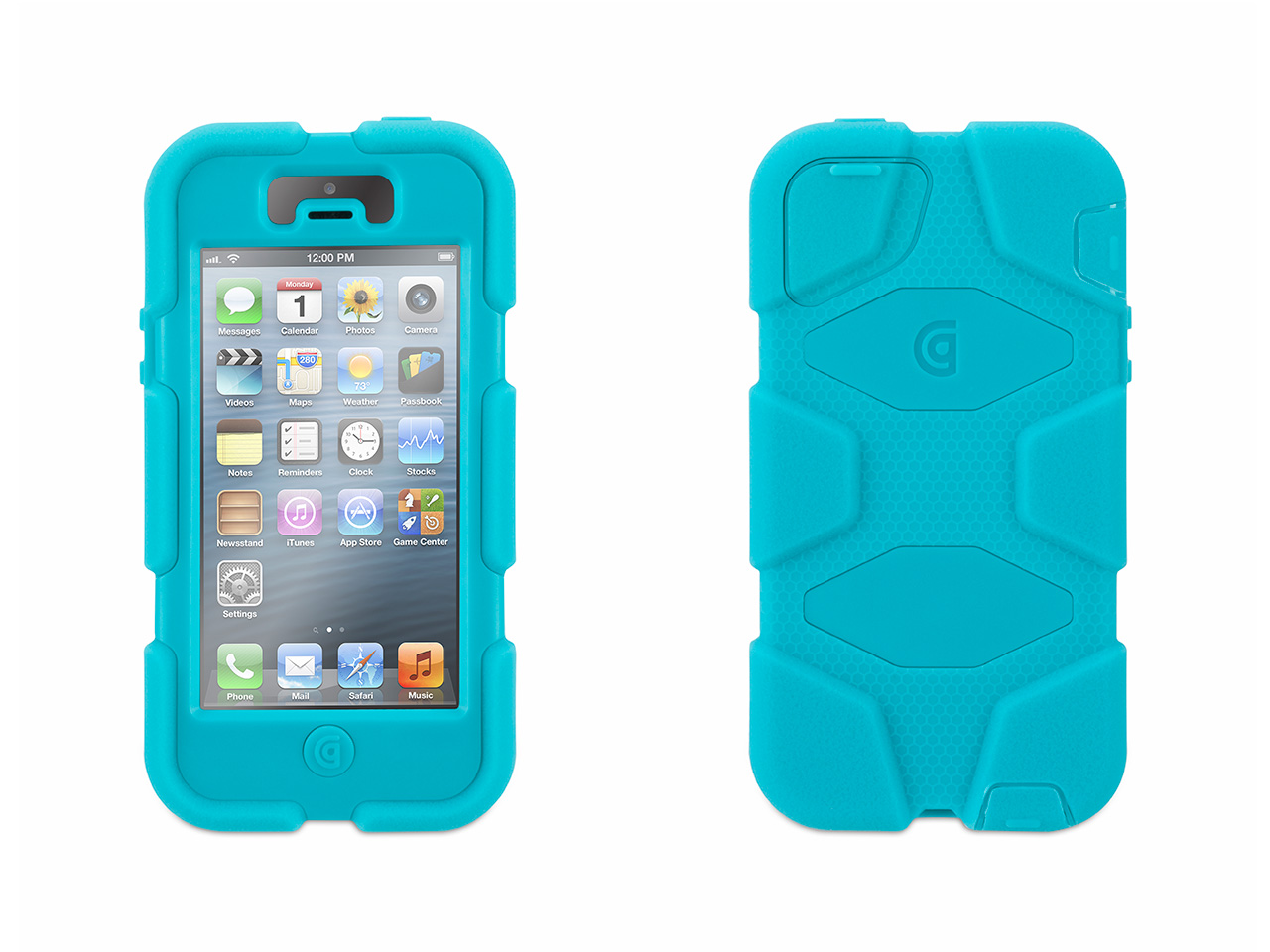 Pool Blue Heavy Duty Survivor Case for iPhone 5/5s