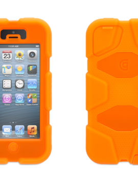 Fluoro Orange Heavy Duty Survivor Case for iPhone 5/5s