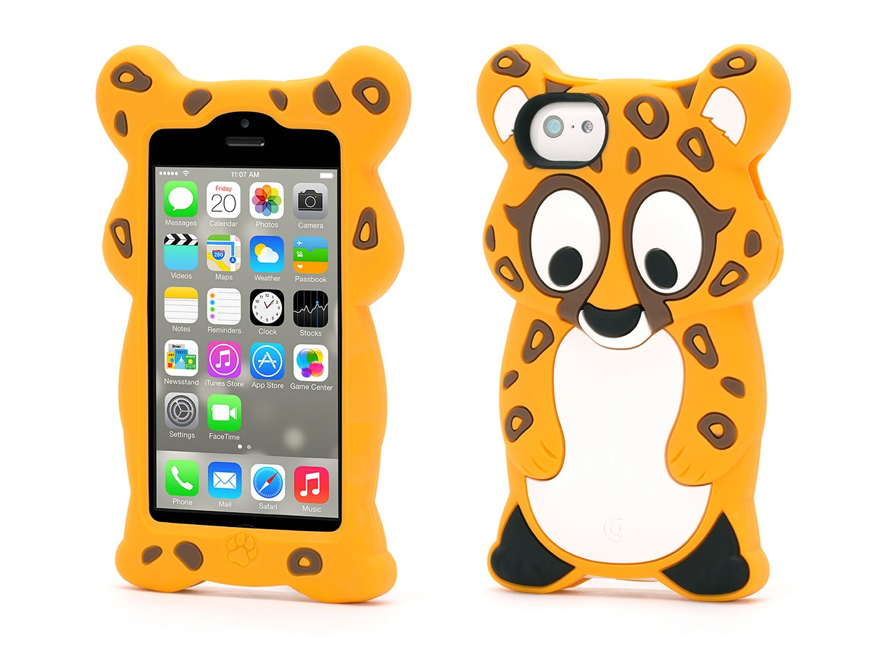 Cheetah KaZoo Protective Animal Case  for iPhone 5c