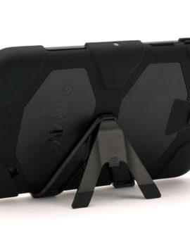 Black Survivor All-Terrain Heavy Duty Case for Samsung Galaxy Tab 4 8.0