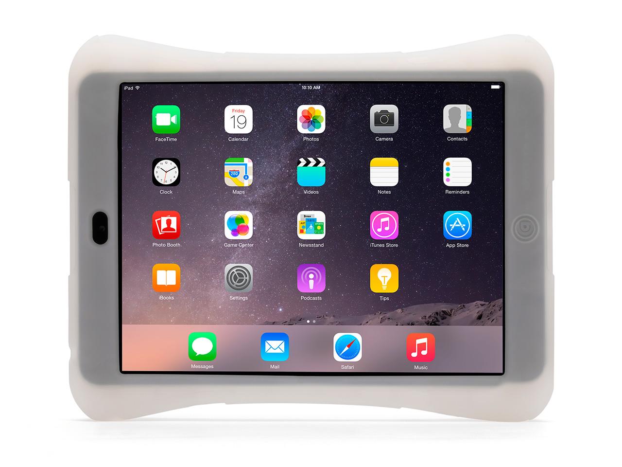 Clear/Blue Survivor CrossGrip Gaming Case for iPad mini