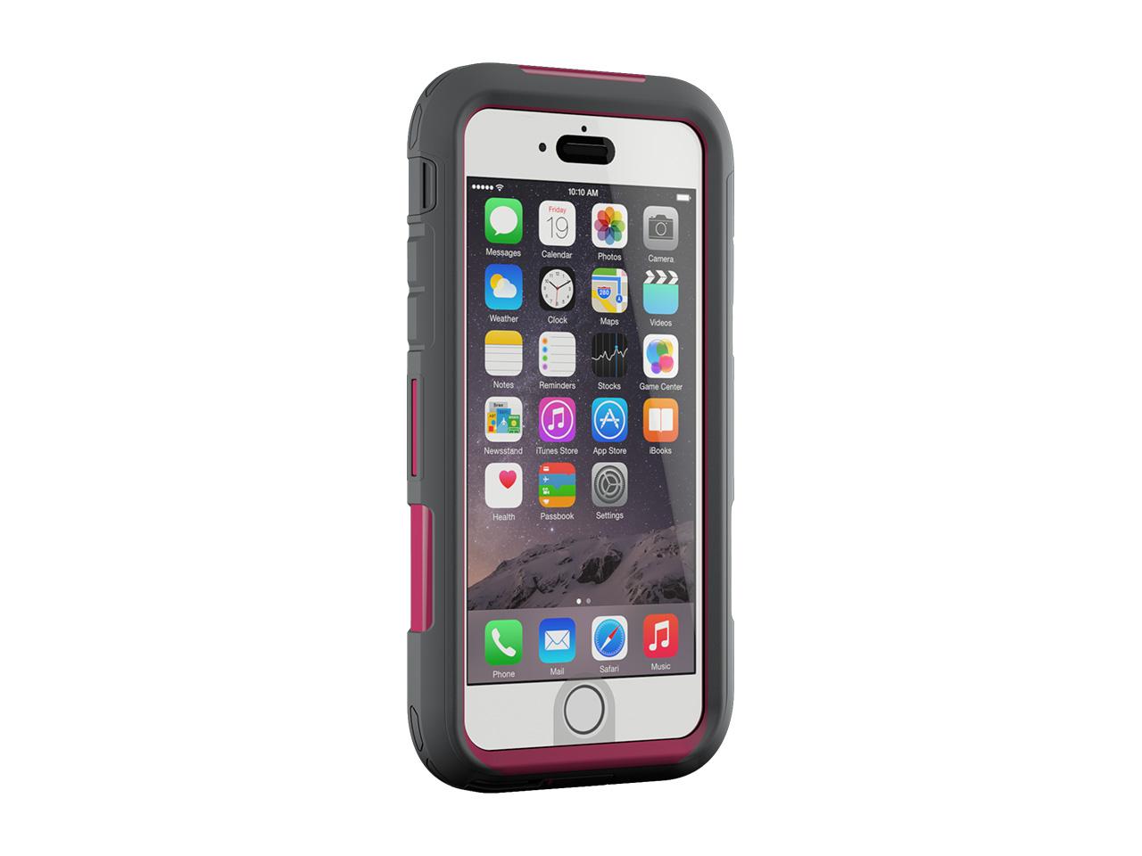 iPhone 6 Plus/6s Plus Case Survivor Extreme Rugged Case Pink/Grey