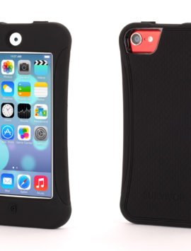 Black Survivor Slim Protective Case for iPod touch (5th/ 6th gen.)
