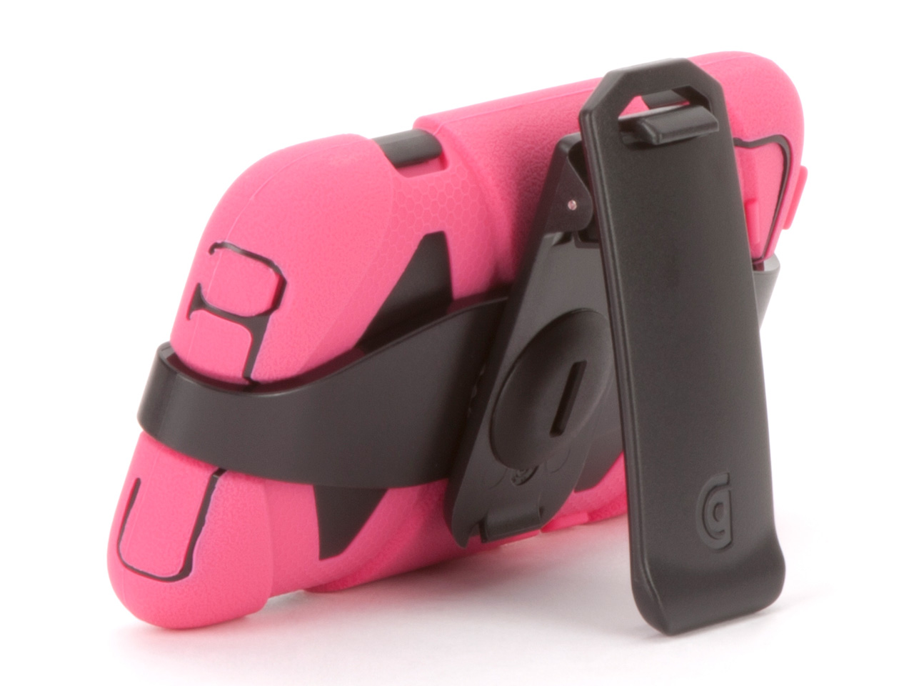 Pink/Black Survivor All-Terrain Case for iPod touch 4th Gen.
