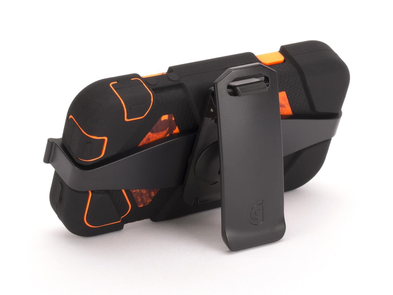 Blaze Survivor All-Terrain Case in Mossy Oak Camo with Belt Clip for iPhone 4/4s