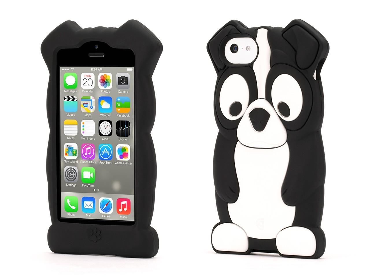Boston Terrier KaZoo Protective Animal Case  for iPhone 5c