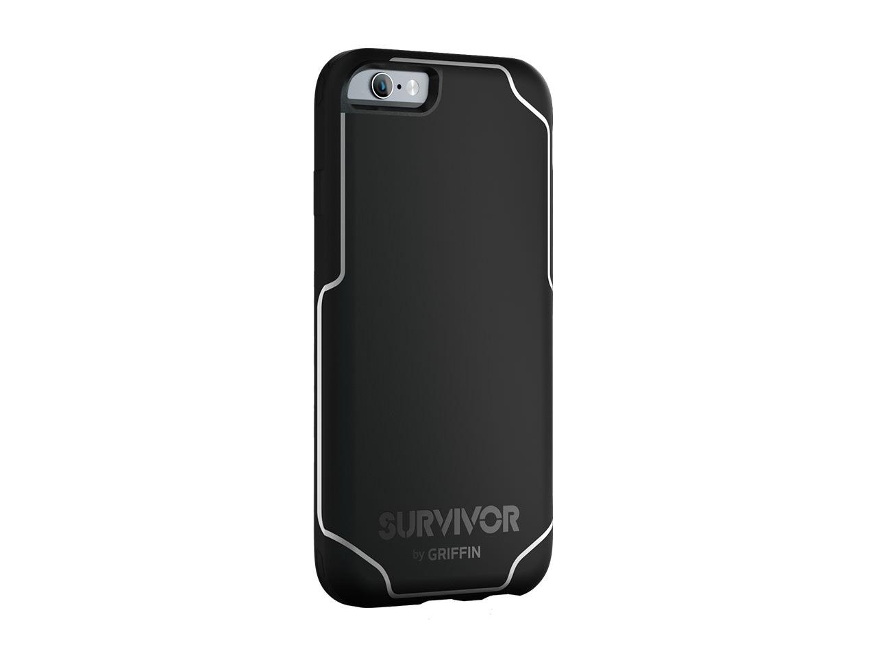 Black/White Survivor Journey for iPhone 6/6s Protective Case - 6ft drop Protection