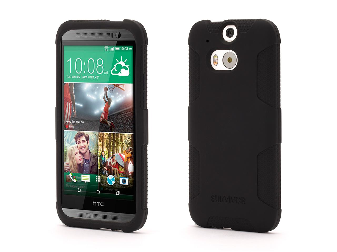 Survivor Skin Protective Case for HTC One (M8)