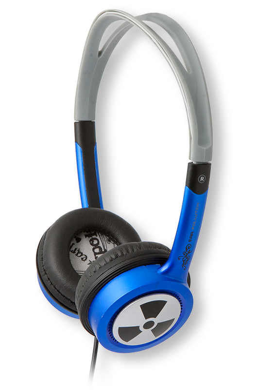 iFrogz EarPollution Toxix Headphones with Mic