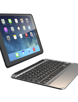 Slim Book Case with Keyboard for the Apple iPad Air