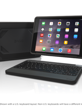 Rugged Book Case with Keyboard for the Apple iPad Air