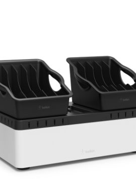 Store and Charge Go With Portable Trays