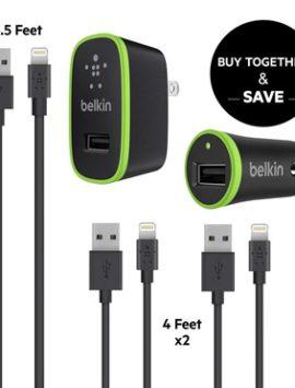 Belkin iPhone Charging Bundle **Certified Refurbished