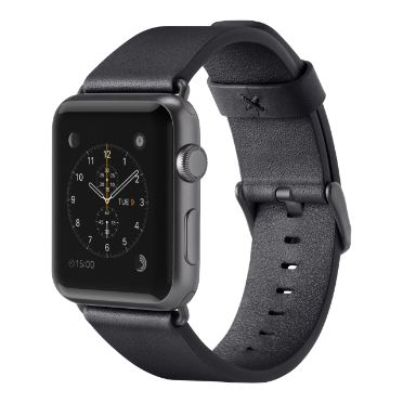 Classic Leather Band for Apple Watch 38mm