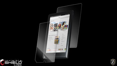 InvisibleShield Original for the Barnes & Noble Nook HD+
