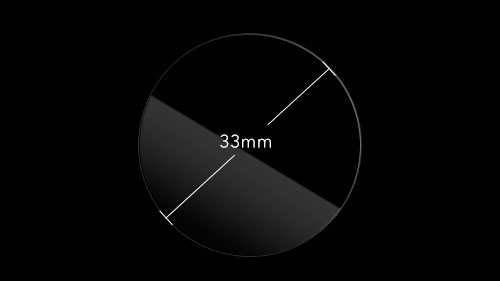 InvisibleShield Original for the Generic Watch 33mm Face