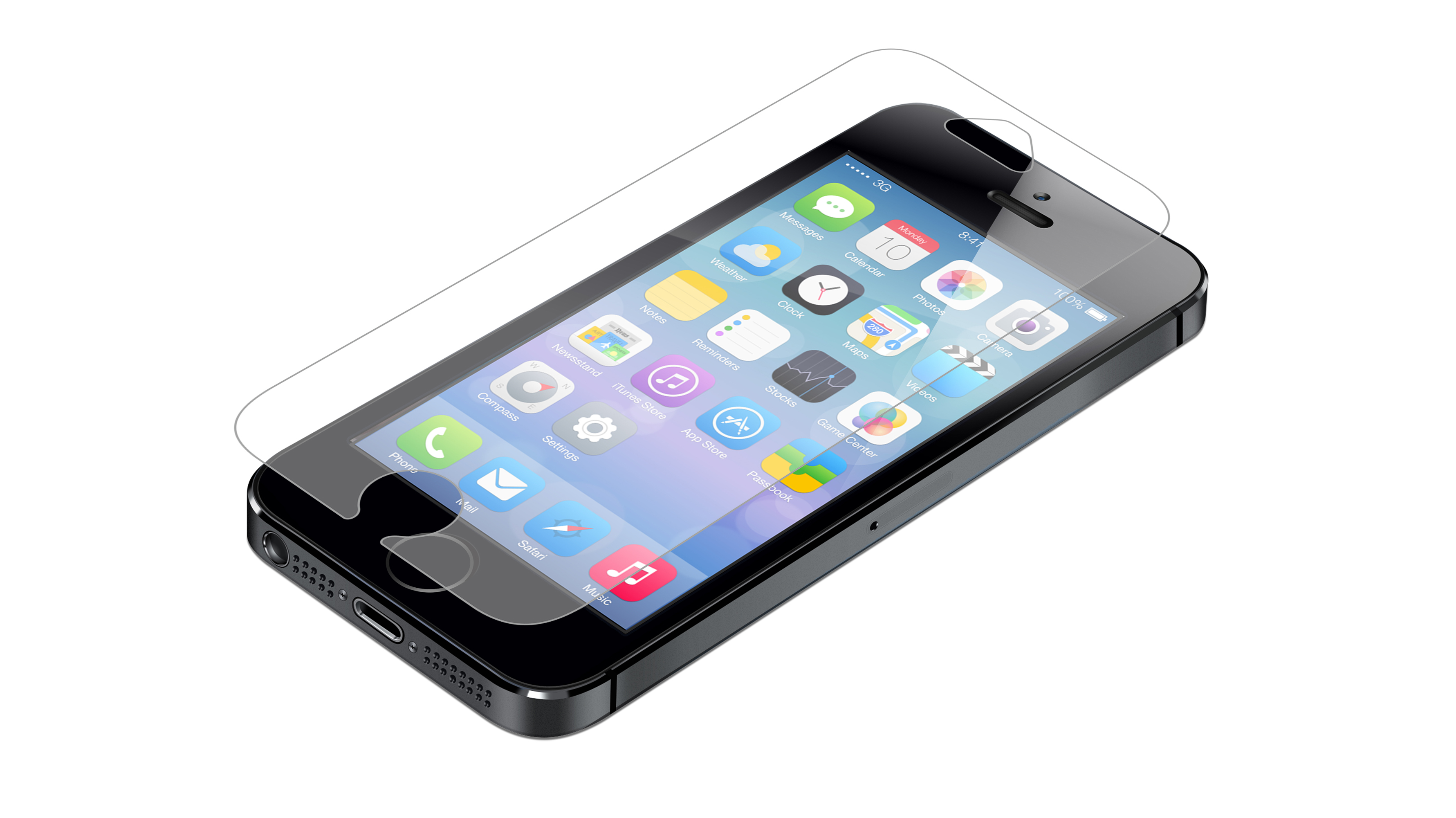 InvisibleShield Glass for the Apple iPhone 5/5s/SE