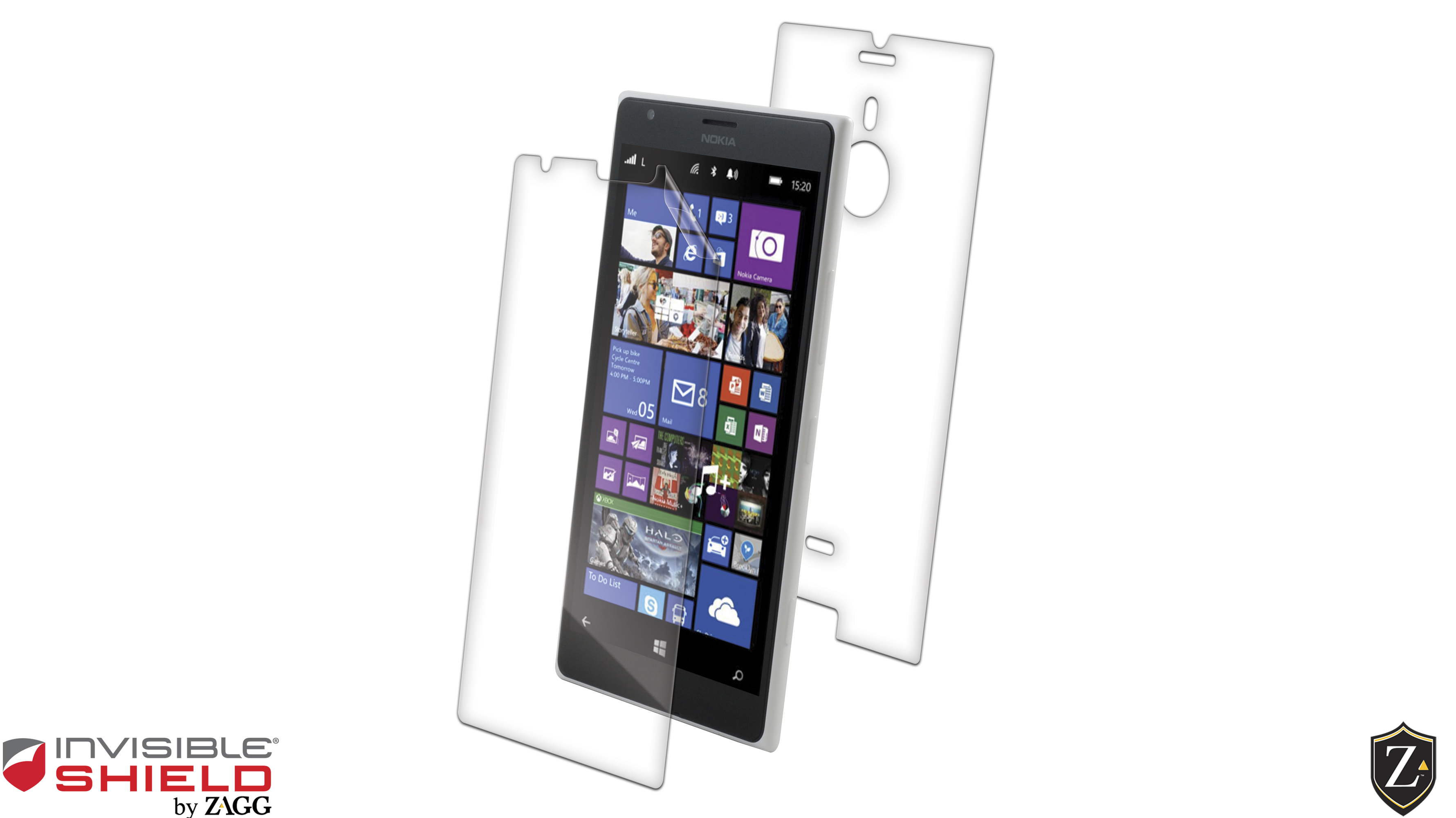 InvisibleShield Original for the Nokia Lumia 1520