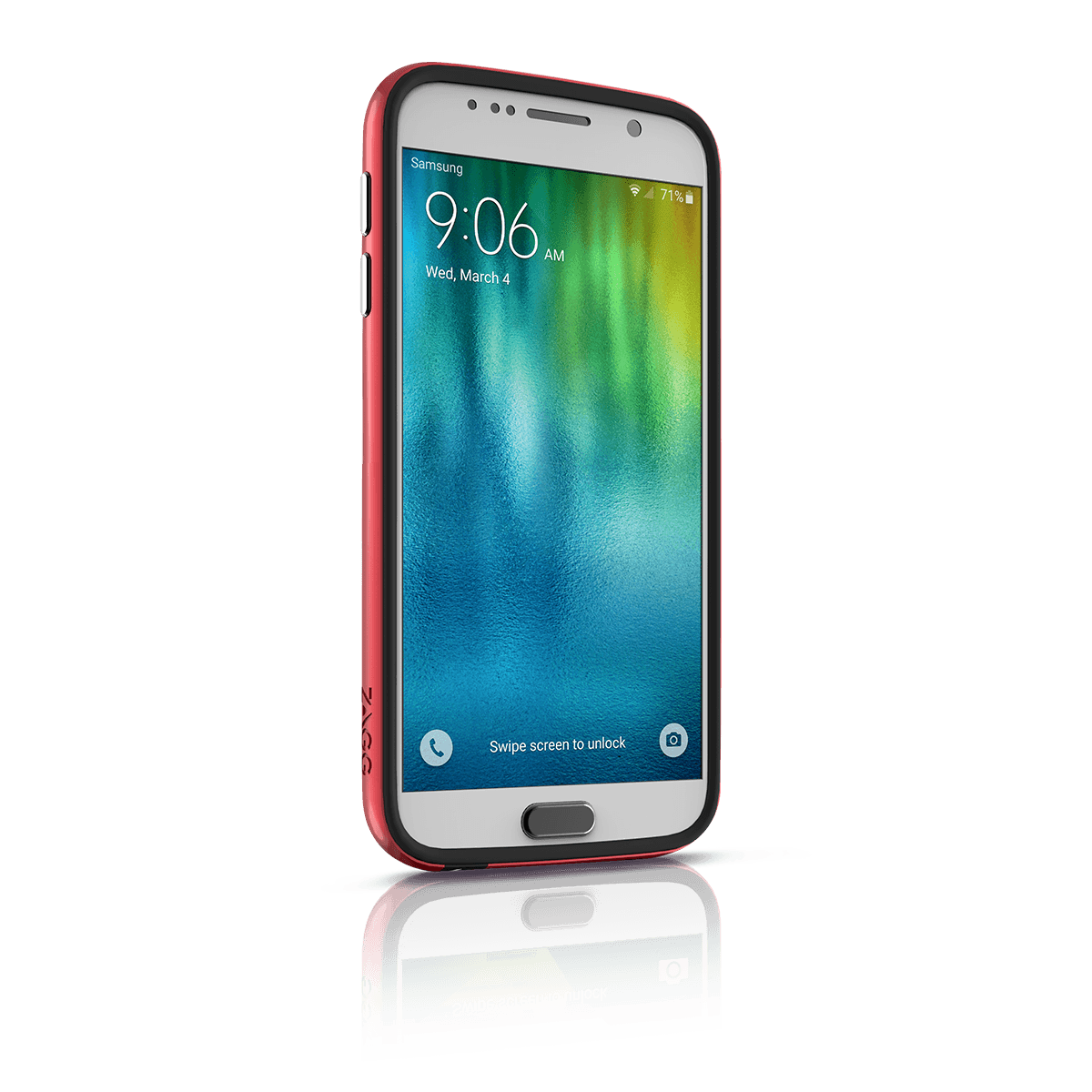 InvisibleShield Orbit Bumper Case for the Samsung Galaxy S6