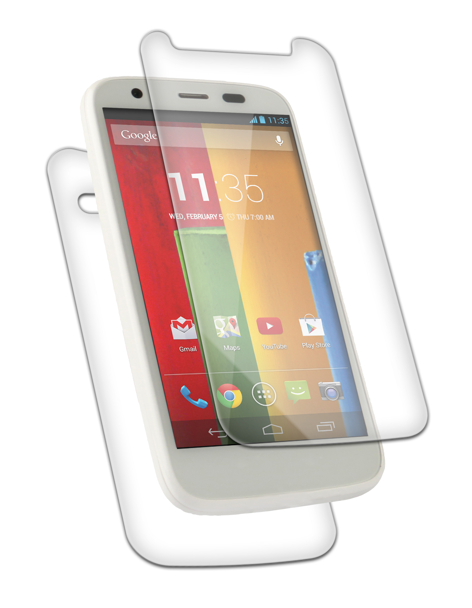 InvisibleShield Original for the Motorola Moto G2