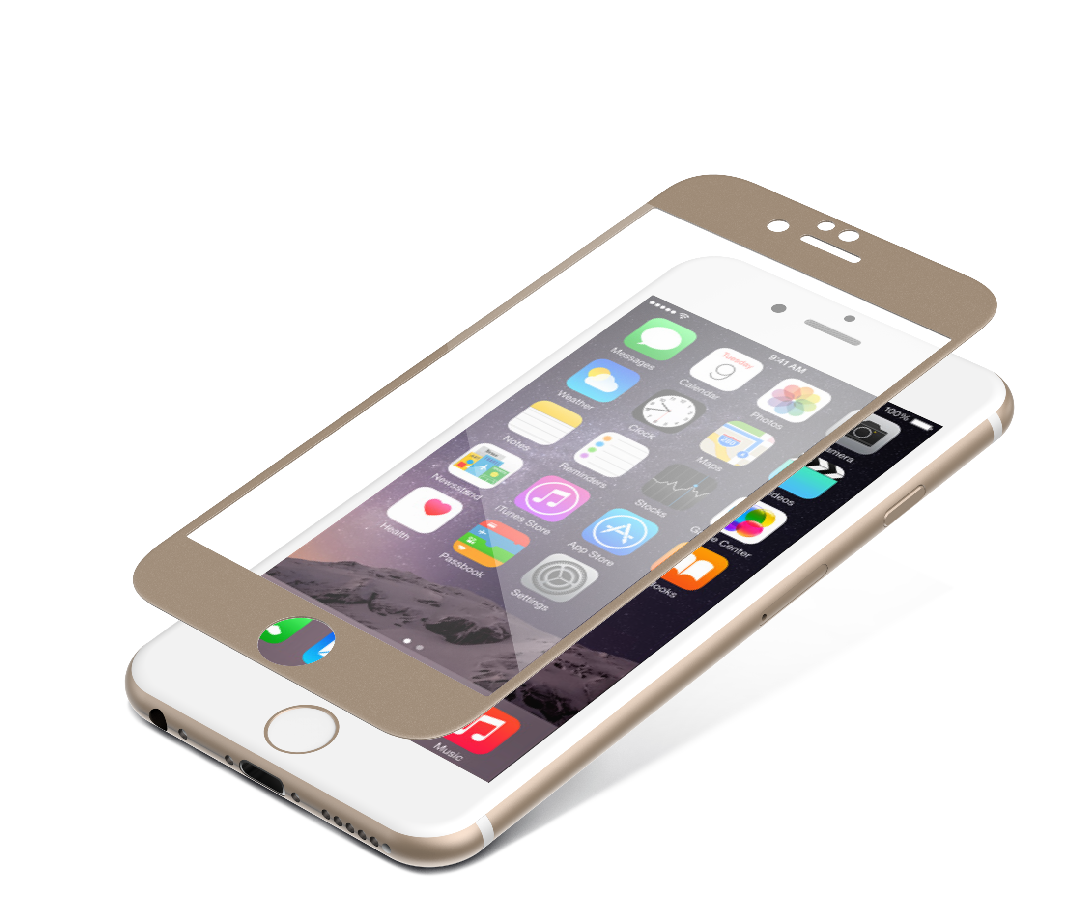 InvisibleShield Glass Luxe for the Apple iPhone 6/6s