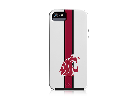 Case-Mate White Washington State Helmet Case - iPhone 5
