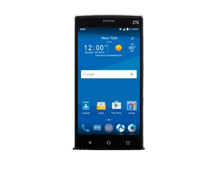 ZTE ZMAX 2 GoPhone - Black