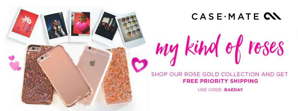 Case Mate - Rose Gold Collection 40% Off DEAL - Valentine Day Coupon