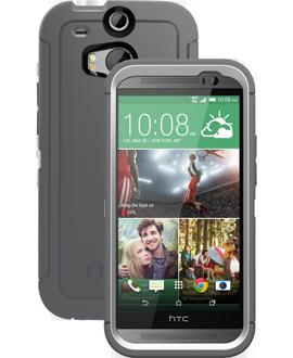 HTC One M8 OtterBox Defender Series Case - Glacier