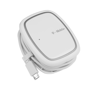 Universal Micro USB Wall Charger - White