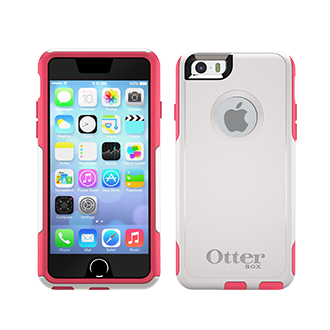 iPhone 6 OtterBox Commuter Case - Neon Rose