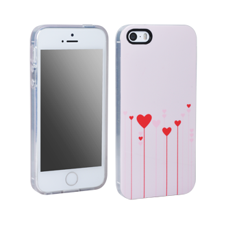 iPhone 5s Hearts Flex Protective Cover