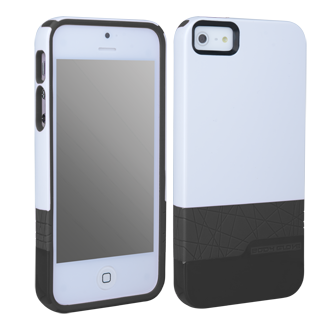 iPhone 5 Body Glove Diamond Case - White & Black