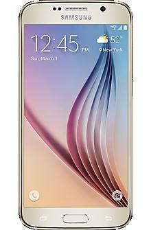 Samsung Galaxy S®6 64GB in Gold Platinum