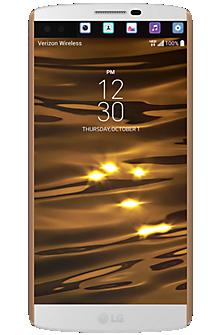 LG V10™ in Luxe White