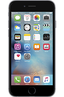 Apple® iPhone® 6 16GB in Space Gray