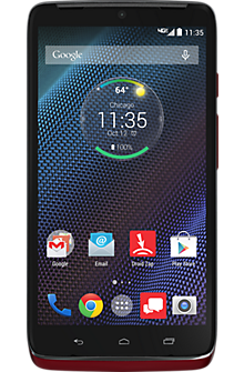 DROID TURBO by Motorola 32GB in Metallic Red