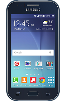 Samsung Galaxy J1™ in Blue