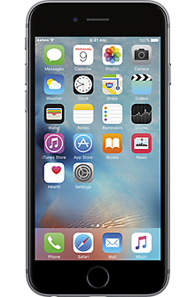 Apple® iPhone® 6s 128GB in Space Gray