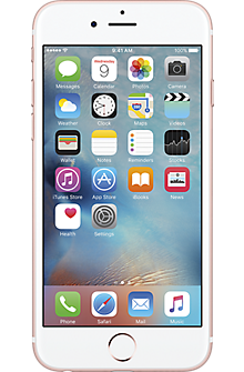Apple® iPhone® 6s 128GB in Rose Gold
