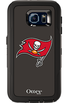 NFL Defender by OtterBox for  Samsung Galaxy S 6 - Tampa Bay Buccaneers