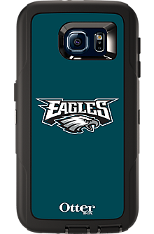 NFL Defender by OtterBox for  Samsung Galaxy S 6 - Philadelphia Eagles
