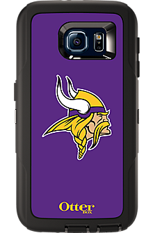 NFL Defender by OtterBox for  Samsung Galaxy S 6 - Minnesota Vikings