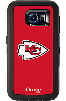 NFL Defender by OtterBox for Samsung Galaxy S 6 - Kansas City Chiefs