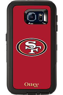 NFL Defender by OtterBox for Samsung Galaxy S 6 - San Fransisco 49ers